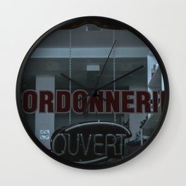Cordonnerie Wall Clock