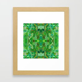 Under the Sea Creature Framed Art Print