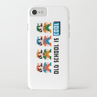 mario iPhone & iPod Cases featuring Mario by PixelPower