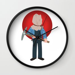 Jason Voorhees Friday the 13th Part 2 Wall Clock