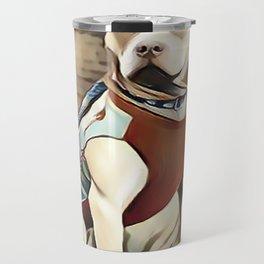 Pit Bull 95% Nice and 5% Naughty Travel Mug