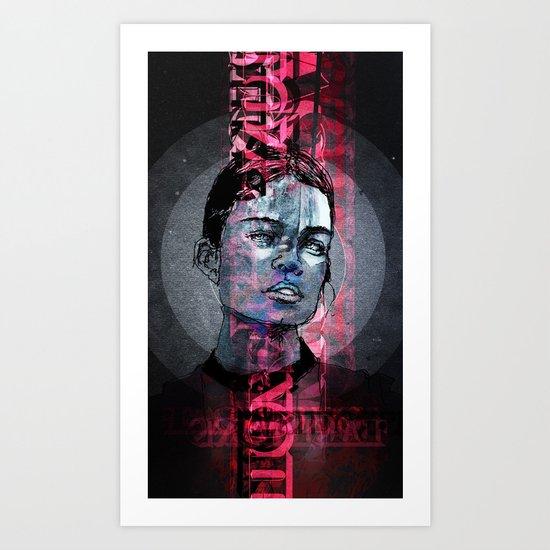 ℳoxie Art Print