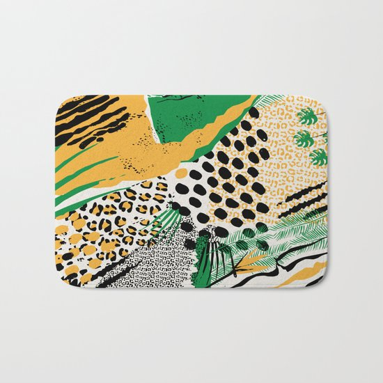 wild cats Bath Mat