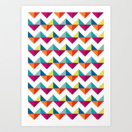 Geometric Pattern 02 Art Print