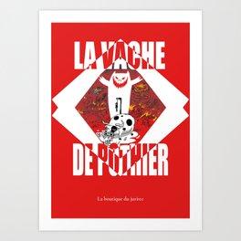 La vache de Pothier Art Print