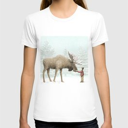 Winter Moose T-shirt