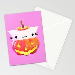 Pumpkin Cat Stationery Cards