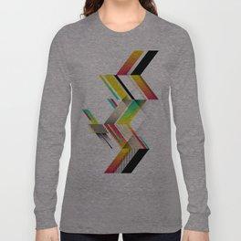 Retro Geo Long Sleeve T-shirt