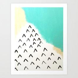 Ocean Mountains Art Print