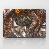 darwin iPad Cases featuring Darwin Meets Orwell by John Hansen