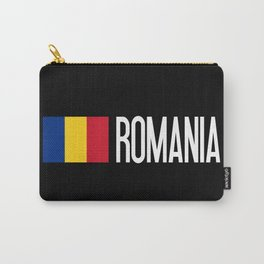 Romania: Romanian Flag & Romania Carry-All Pouch