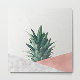 Pineapple Dip VI Metal Print