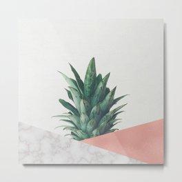 Pineapple Dip VI Metal Print