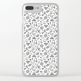 Modern Witch - White Clear iPhone Case