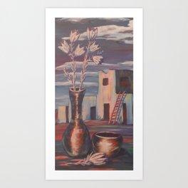 Peaceful Pueblo Art Print