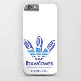 Aboriginal- Blue Eyed Grass iPhone Case