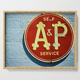 A&P Serving Tray