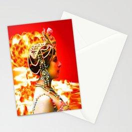 Mata Hari Stationery Cards