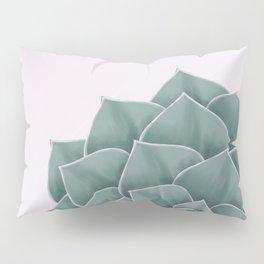 Big Green Echeveria Design Pillow Sham