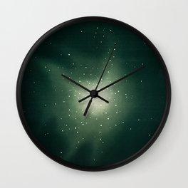 Star Clusters in Hercules Wall Clock