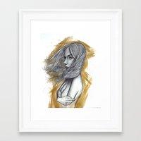 scandal Framed Art Prints featuring Scandal by Steven Bossler