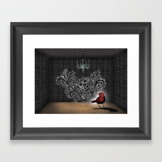 My Haus Framed Art Print