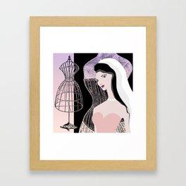 JEZEBEL-VINTAGE-1 Framed Art Print