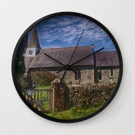 Litlington Church Wall Clock