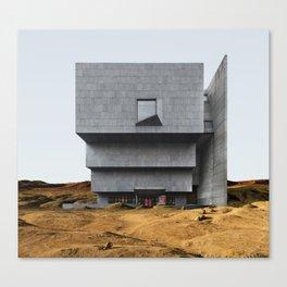 Misplaced Series - Breuer Building Canvas Print