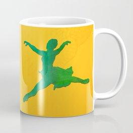 AP124 Watercolor dancer Coffee Mug