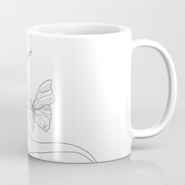 Butterflies on the Palm of the Hand Coffee Mug