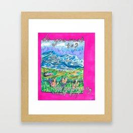 DO YOU? Framed Art Print