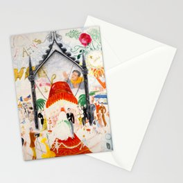 The Cathedrals of Fifth Avenue by Florine Stettheimer, 1931 Stationery Cards