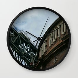 Down Finnieston Way,  Glasgow, Scotland Wall Clock
