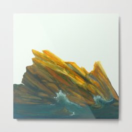 Spanish Seas Metal Print