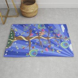 Mandala Tree Rug