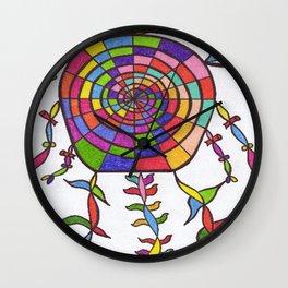 THE NIGHT WATCHER Wall Clock