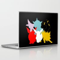 umbreon Laptop & iPad Skins featuring Evolutions by Tdrisk46