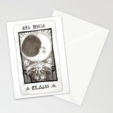alpha beta gamma Stationery Cards