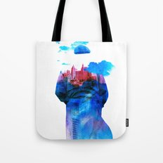 Get Away From Town (color version) Tote Bag