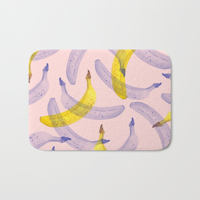 Banana Under Srcutiny #society6 #decor #buyart Bath Mat