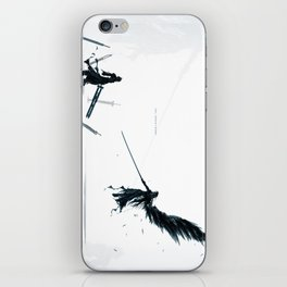 Never be a Memory iPhone Skin