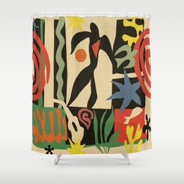 Inspired to Matisse (vintage) Shower Curtain