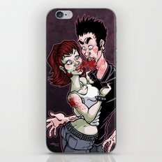 The Pain of Being Dead iPhone & iPod Skin