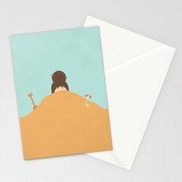coprimi la testa Stationery Cards