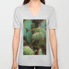 Cactus Parade Unisex V-Neck