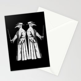 Plague Doctor International Pandemic plague mask Stationery Cards