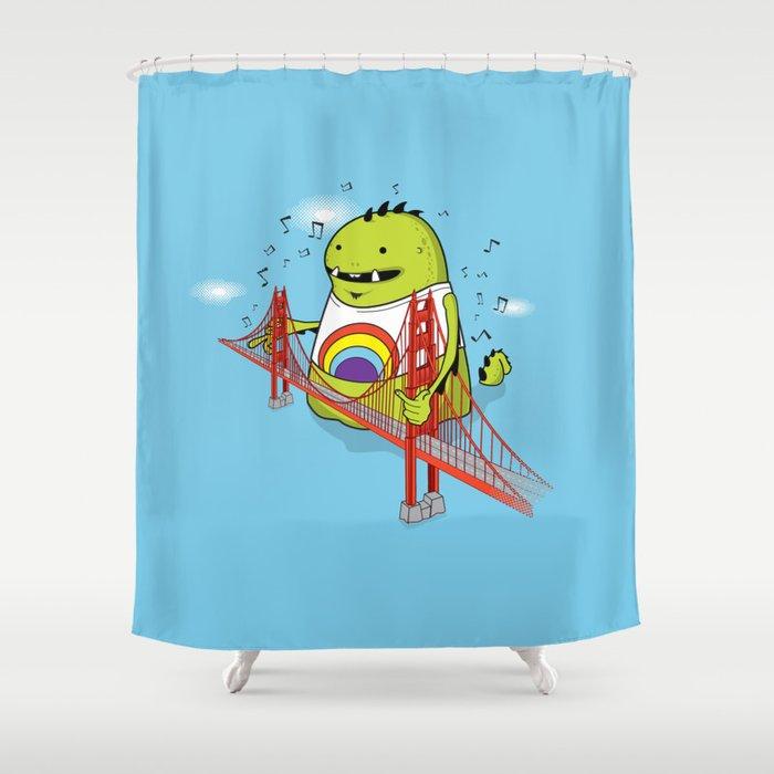 San Francisco Chords Shower Curtain By Wolfsdream Society6