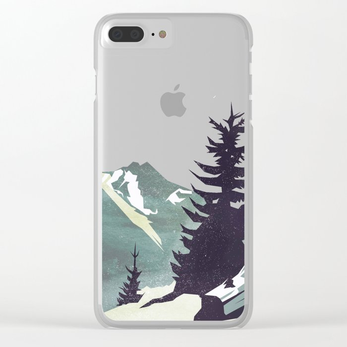 Pause Clear iPhone Case