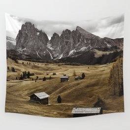 seiser alm landscape Wall Tapestry